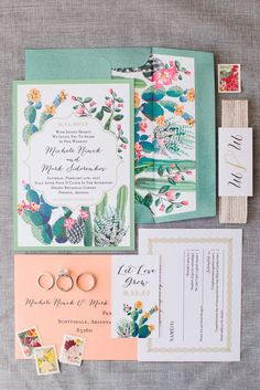 desert botanical wedding