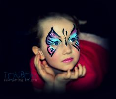 MON AMOUR DE BUTTERFLY, maquillage papillon, make-up butterfly, how to do a butterfly