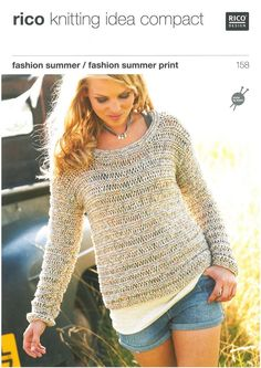 Sweater & Top in Rico Fashion Summer