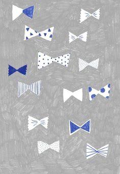 by Aiko Fukawa Gravure Illustration, Pattern Illustration, Graphic Design Illustration, Digital Illustration, Pretty Patterns, Textile Patterns, Illustrations Posters, Pattern Design, Bow Pattern