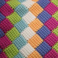 Entrelac Crochet!