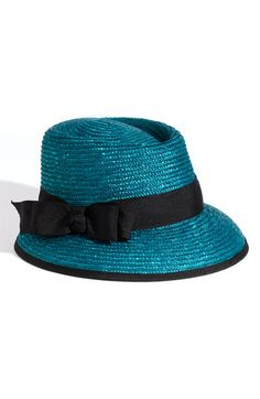 Halogen® 'Long Brim' Straw Hat   Nordstrom