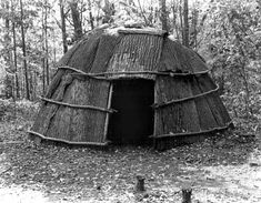 Indian Pictures: American Indian Pictures of the Algonquin, wigwam