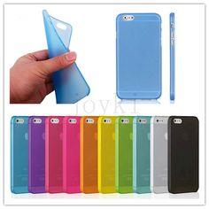 Lembut tipis penutup untuk iphone kasus matte frosted batal transparan telepon untuk iphone 4 4 S 5 5 S SE 6 6 S 6 Ditambah 5C 7 7 Ditambah kasus penutup
