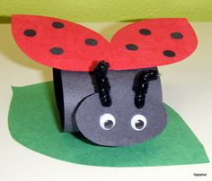 grouchy ladybug crafts - Google Search