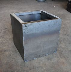 18 Cube Planter Box by austinoutdoor on Etsy, $225.00