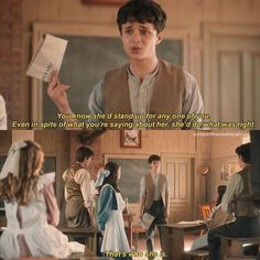 Gilbert And Anne, Gilbert Blythe, Anne Shirley, Do What Is Right, Kindred Spirits, Anne Of Green Gables, Book Show, Stand Up, Cool Words