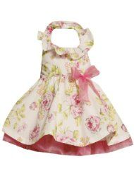 Bonnie Jean GIRLS 2T-6X PINK YELLOW GREEN GLITTER FLORAL PRINT HALTER Special Occasion Flower Girl Easter Party Dress   $37.80 Clothing - Up to 40 Off Dresses - End Promotion Mar 21, 2012 http://www.amazon.com/l/4642811011/?_encoding=UTF8&tag=toy.model.collection.hobby-20&linkCode=ur2&camp=1789&creative=9325