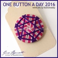 Day 217... For those you just started in this group. Gina is presenting her handmade buttons daily on FACEBOOK. #buttonlovers