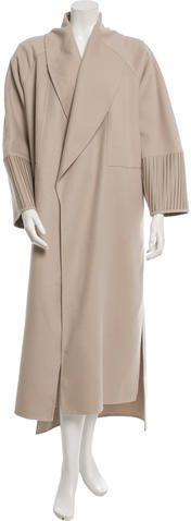 Victor Alfaro Wool Long Coat w/ Tags Long Wool Coat, Langer Mantel, Duster Coat, Tags, Stylish, Jackets, Women, Fashion, Down Jackets