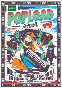 >> * Boooooom! Estão deixando e a gente está crescendo. A segunda edição do Popload Festival tem o prazer de…