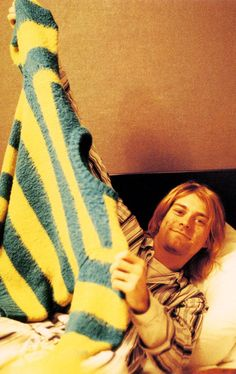 Kurt Cobain #Nirvana - February 1992