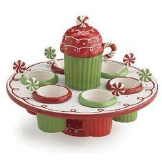 cupcake decorating carousel