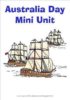 Australia Day mini unit