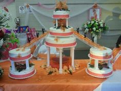 Butterfly theme Sweet 15 cake