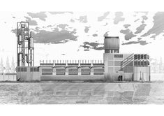 Stellar Drawings Selected as Winners of WAF's Inaugural Architecture Drawing Prize,Digital: Industrial Melanism by Joel Jones. Image Courtesy of World Architecture Festival