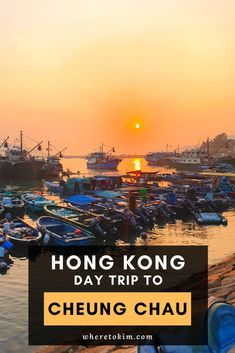 A paradise for fish lovers: relax on the beach and escape the crowds of Hong Kong on a day trip to the island Cheung Chau. Just one ferry ride away. #cheungchau #hongkong #asia #travel #daytrip #island Hong Kong Itinerary, Harbor View, Travel Destinations, Travel Tips, Historical Monuments, Tips & Tricks, China Travel, Day Trip, Where To Go