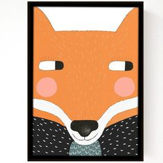 Big Fox by Kerry Layton