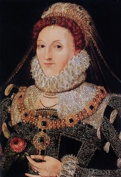 1575-1578 Elizabeth I attributed to Nicholas Hilliard (Fairhaven Collection, Angelsey Abbey - Cambridge UK)