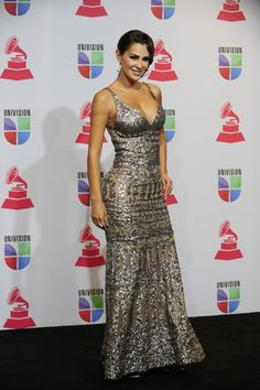 XIII Annual Latin Grammy Awards  - Press Room:  Mexican singer-actress Ninel Conde