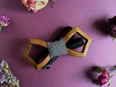 Bow tie / For man / Wedding bow tie / Personalized by UNOWoodStore