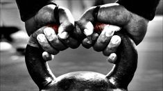The 10,000 Swing Kettlebell Workout by Dan John. The ultimate combination of the most powerful kettlebell exercise and hardcore strength work. Get ready to be better... at everything! #kettlebell #workout