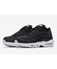 6279b88a94 Cheap Nike Air Max 95 Premium Black White Sale Air Jordan Trainer, Jordans  Trainers,
