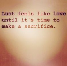 Falling in lust quotes