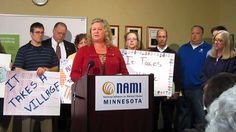 NAMI-MN posted 2/8/14: We had a full house for this morning's press conference. View the full footage here: http://www.youtube.com/watch?v=_e9Hv-JVu_k&feature=youtu.be #MNleg  <>