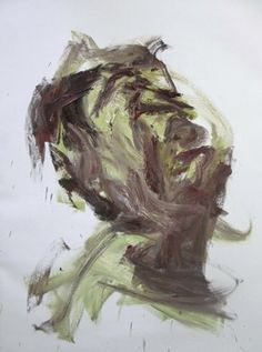 "Saatchi Online Artist Masri Hayssam; Painting, ""Head study-portrait"" #art"
