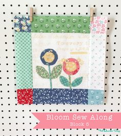 Bloom Sew Along Recap with Lori Holt of Bee in my Bonnet - Fat Quarter Shop's Jolly Jabber