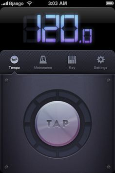 Beats - BPM, Metronome / #app #iPhone / Bjango /  Marc Edwards