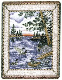 Loons Tapestry Throw