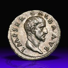 Galba. Silver Denarius (3.47 g), AD 68-69. Rome, AD 68. IMP SER GALBA AVG, bare head of Galba right. Reverse : S P Q R / OB / C S in three lines within oak-wreath. RIC 167; BMC 34 corr.; RSC 287. Goldberg Coins and Collectibles