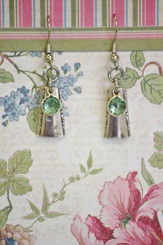 Flatware earrings