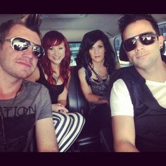Skillet! ❤ oh yeah the guys are rocking those shades