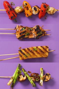 Looking for an easy weeknight meal using the grill? Learn to make Yakitori at home with this easy step-by-step video. Watch the full episode on the Seasons HSTV channel. Grilling Ideas, Grilling Recipes, Chicken And Veggie Recipes, Junior Prom Dresses, Good Burger, Easy Weeknight Dinners, Skewers, Recipe Using, Vegan Recipes