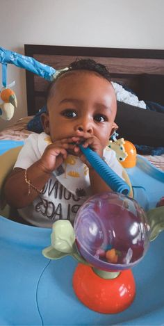 """These baby teething tubes have been the biggest life saver for us... he doesn't go anywhere without them!"" ~ Kassandra S. Best Teething Toys, Baby Teething Remedies, Happy Baby, Our Baby, Tube"