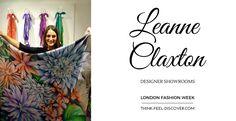Leanne Claxton - DESIGNER SHOWROOMS (LFW) - Leanne Claxton - DESIGNER SHOWROOMS (LFW) - FEBRUARY 2016 : How to wear YOUR Leanne Claxton Scarf! #pinterest #LFW #LeannClaxton #designerShowrooms #fashion #fashionblogger #fashionista