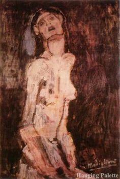 Amedeo Modigliani 'Pleading Naked Woman' 1907