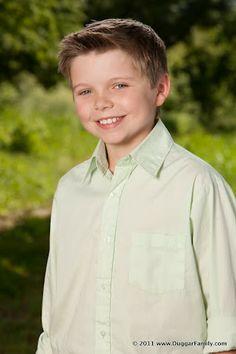 James Andrew Duggar 2012  10 years old Født 7. Juli 2001
