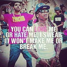 Drake and Lil' Wayne