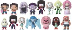 Steven Universe Mystery Minis by Funko