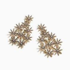 Shop J.Crew for the Pavé daisy chandelier earrings for Women. Find the best selection of Women Jewelry available in-stores and online. I Love Jewelry, Jewelry Design, Women Jewelry, Chandelier Earrings, Women's Earrings, J Crew Outfits, Daisy, Matching Rings, Holiday Fashion