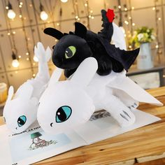 Special price How to Train Your Dragon 3 Toothless light Fury Anime Figure Night Fury Dragon Plush Doll Toys For Children Plush Dolls, Doll Toys, Night Fury Dragon, Toothless, Anime Figures, How Train Your Dragon, Kids Toys, Coupon, Children