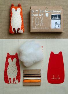 purl soho | products | item | embroidery kits (kiriki)