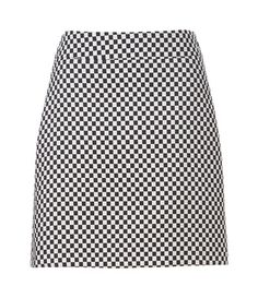 CHECKERED JACQUARD SKIRT from Zara