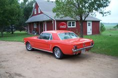 1965 Ford Mustang. Excellent low mile survivor. Features V8, auto, factory air, and power steering. This was my dad's car since it was 1 year old.