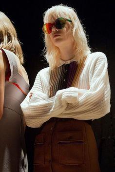 Marco de Vincenzo AW15, Dazed backstage, Womenswear, Milan