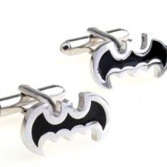 Ayygift Super Hero Cufflinks Men's Cuff Jewelry with Velvet Gift Box Cuff Jewelry, Hair Jewelry, Fashion Jewelry, Jewellery, Batman Cufflinks, Men's Cufflinks, Silver Batman, Man Page, Black Wings